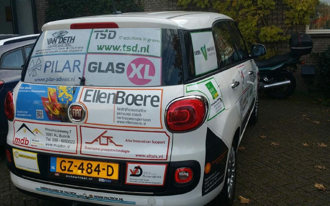 Nieuwe schoolauto Wellantcollege Gouda